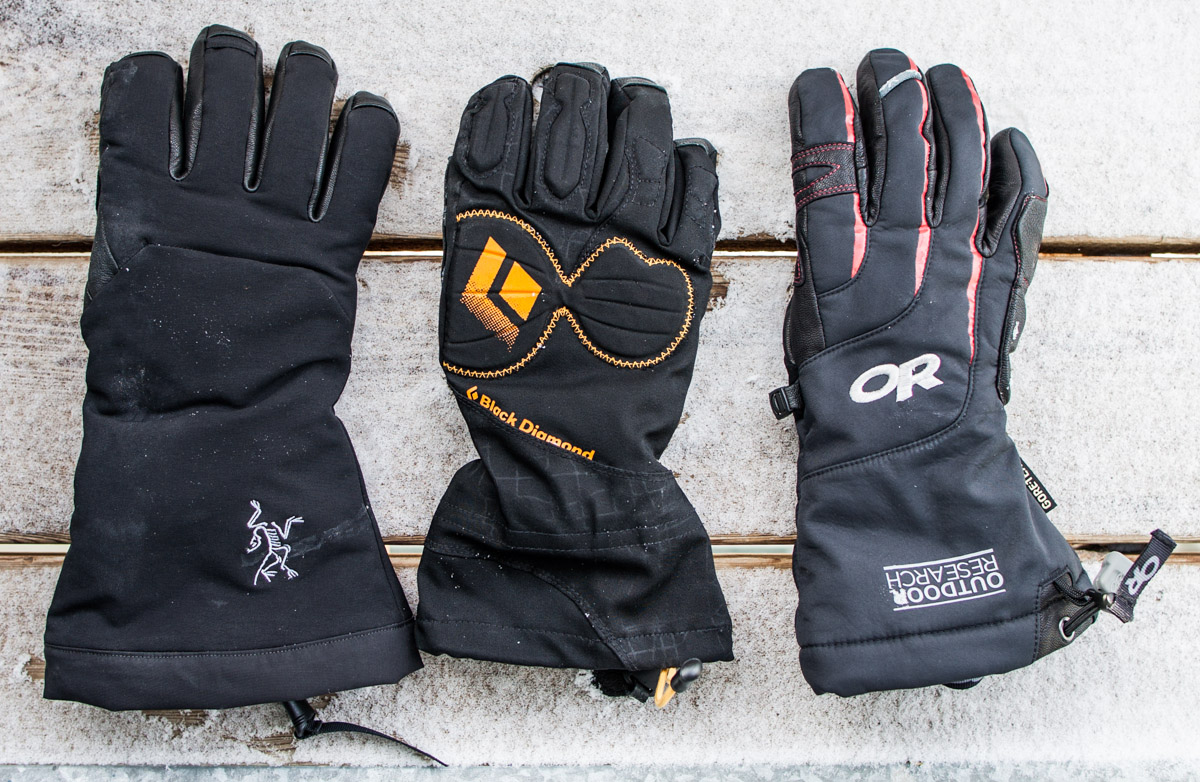 Comparison: Warm Gloves