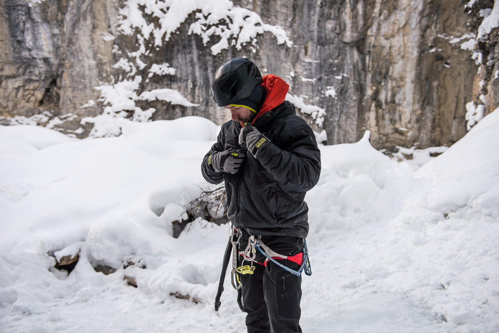 Field Tested Review: Arc'teryx Solo Hoody & Dually Belay Parka