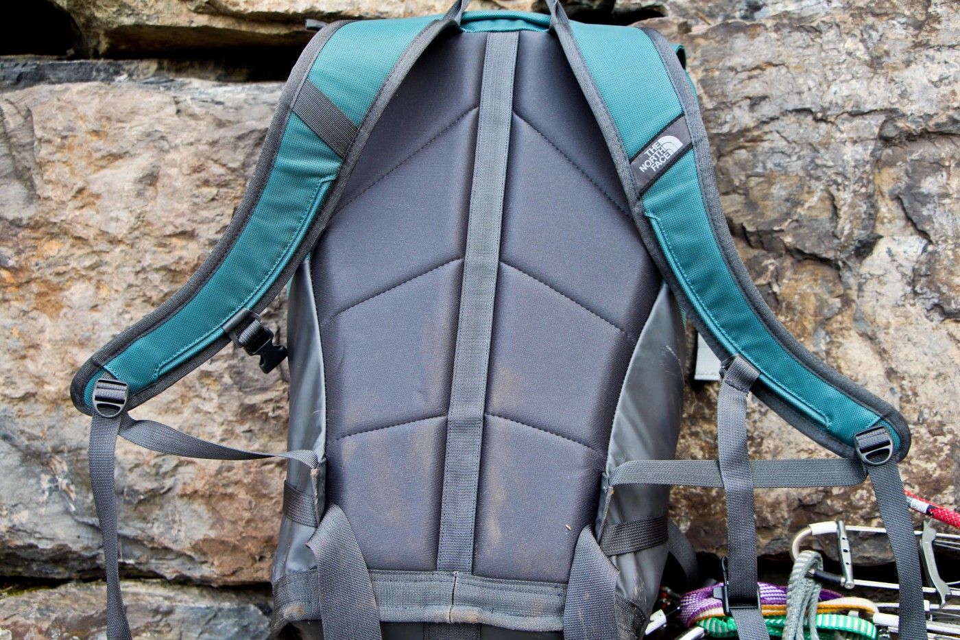 First look north face cinder 32 crag pack review the for Bomber bag review
