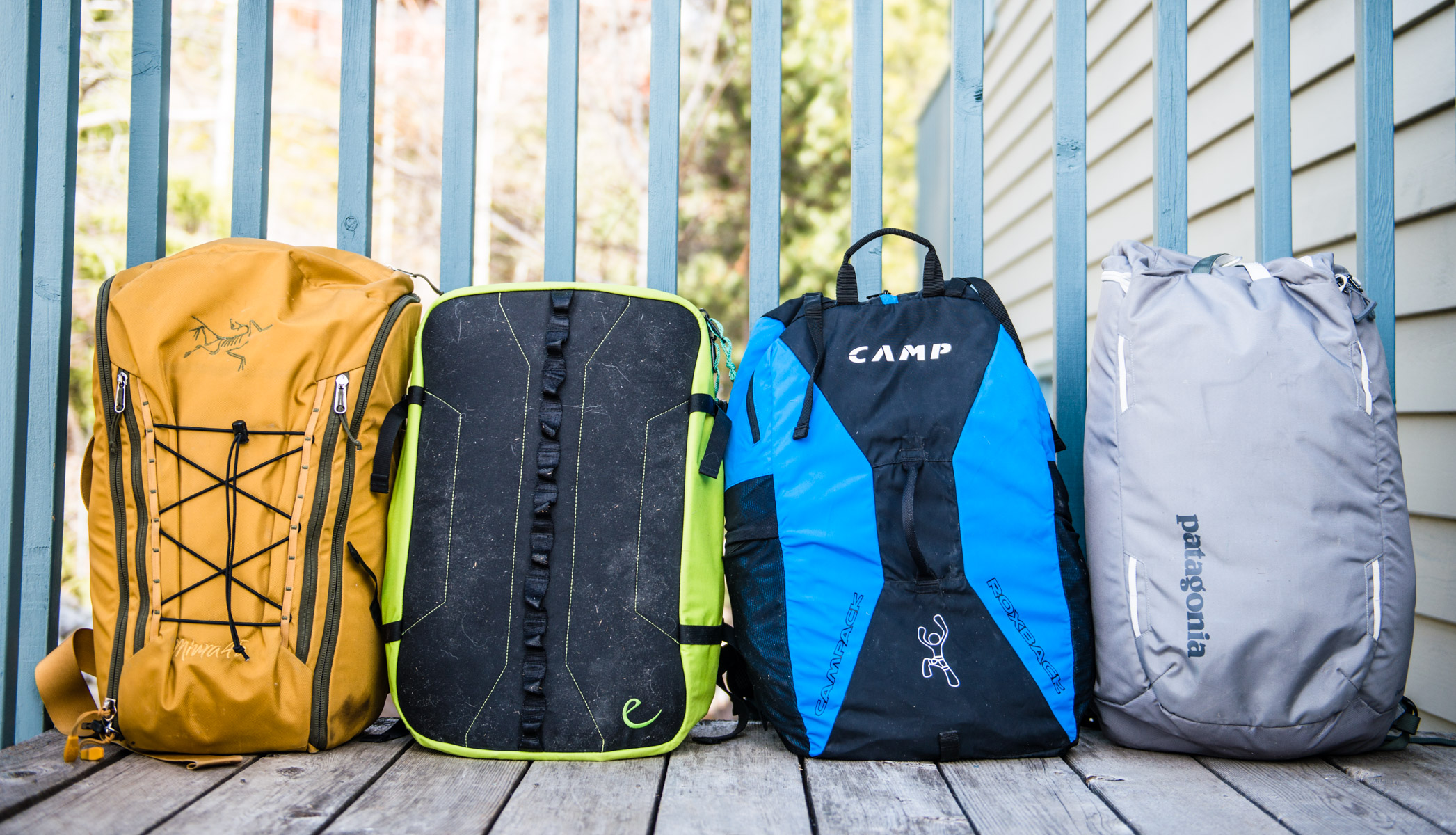Comparison Review: Cragging Packs