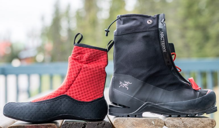 First Look: Arcteryx Acrux AR boot