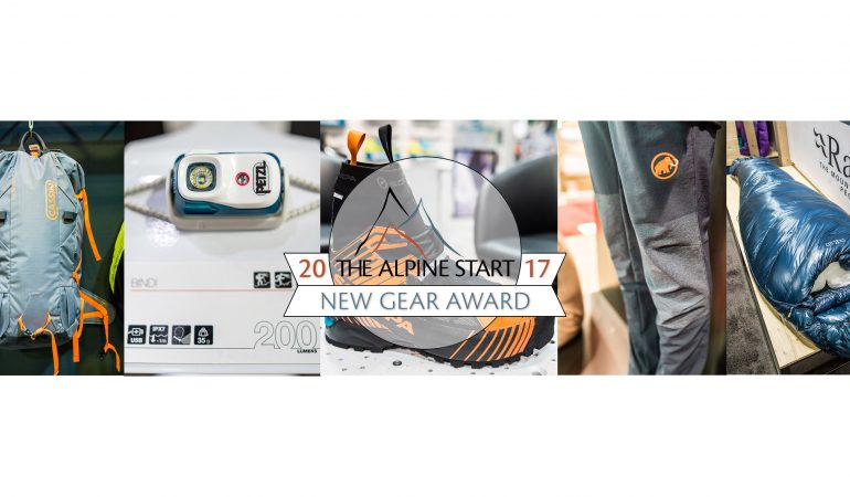 Summer 2017 OR: New Gear Awards
